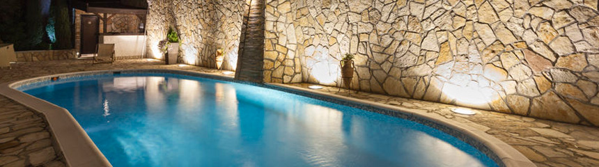 pool, spa and sauna lighting