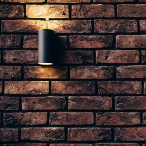 LED lighting mounted on wall