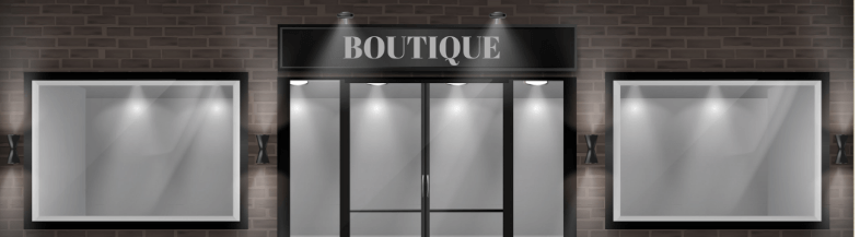 StoreFront Lighting - Boutique Retail Store